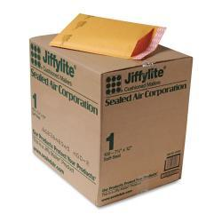 Jiffylite Sealed Air 7 1/4-Inch x 12-Inch Self-Seal Golden-Brown Padded Mailer (Case of 100)
