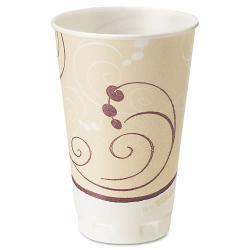 SOLO 16-oz Trophy Symphony Design Foam Hot/Cold Drink Cups (Case of 1,000)
