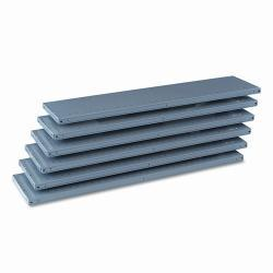 Tennsco 87-inch High 48-inch x 12-inch Industrial Steel Shelving (Pack of 6)