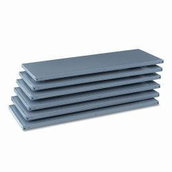 Tennsco 87-inch High 48-inch x 18-inch Industrial Steel Shelving (Pack of 6)