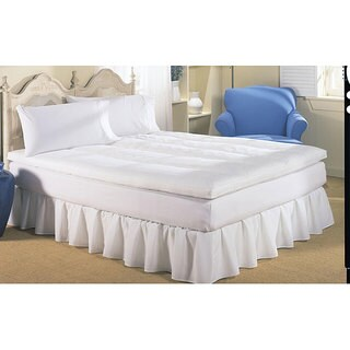 Dream On Reversible Quilted Cotton Featherbed