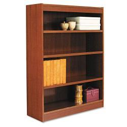 Alera Square Commercial-Grade Corner Bookcase with Finished Back