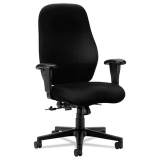 HON 7800 Series Black High-Back Executive Task Chair
