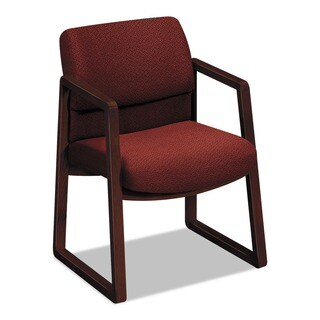 HON 2400 Series Red Guest Arm Chair