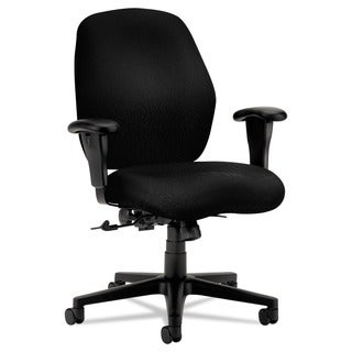 HON 7800 Series Black Mid-Back Task Chair