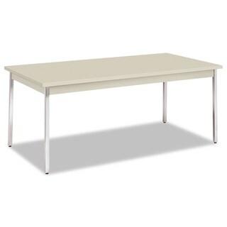HON Utility Table with Chrome Legs