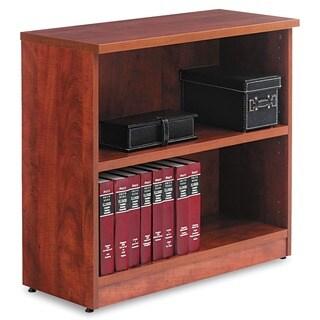 Alera Valencia Series 2-Shelf Light Brown Bookcase