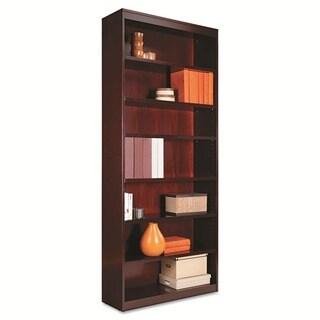 Alera Square Wood Corner Bookcase with Finished Back
