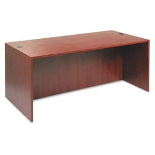 Alera Valencia Series Medium Cherry 71 in. W x 35 1/2 in. D x 29 5/8 in. H Straight Desk Shell https://ak1.ostkcdn.com/images/products/4373805/P12341119.jpg?impolicy=medium