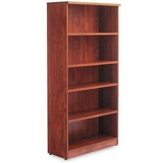 Alera Valencia Series Medium Cherry 31 3/4 in. W x 14 in. D x 65 in. H 5-shelf Bookcase https://ak1.ostkcdn.com/images/products/4373836/P12341139.jpg?impolicy=medium