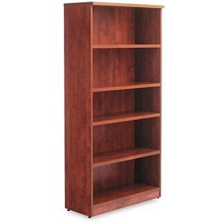 Alera Valencia Series Medium Cherry 31 3/4 in. W x 14 in. D x 65 in. H 5-shelf Bookcase
