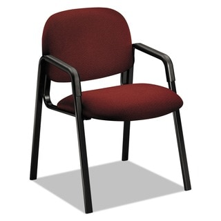 HON Solutions Seating Leg Base Cherry Guest Chair