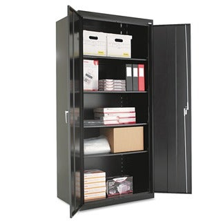 Alera Assembled 78-inch High Steel Storage Cabinet