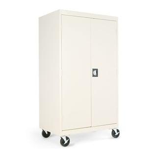 Alera Fully Enclosed 66-inch High Mobile AV Cabinet