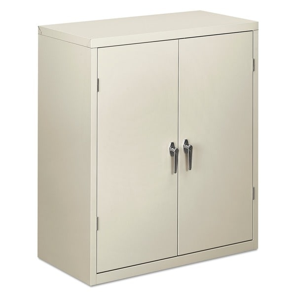 Shop Hon Assembled Storage Cabinet Light Gray 36 X 18 X