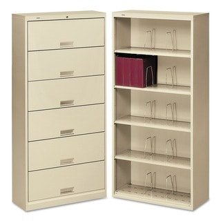HON 600 Series Open Shelf File with Shelf Dividers