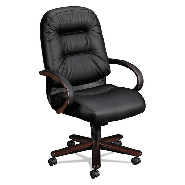 HON Pillow Soft Executive High Back Leather Chair