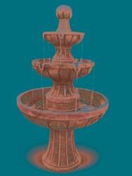 Napa Valley 45-inch Fiberglass Fountain - Thumbnail 2