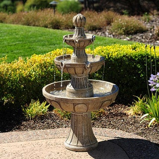 Link to Napa Valley 45-inch Fiberglass Fountain Similar Items in Outdoor Decor