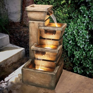 Link to Ashboro 33-inch Zen Fountain Similar Items in Outdoor Decor