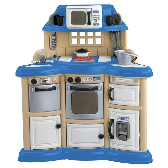 american plastic toys children 39 s kitchen play set free shipping