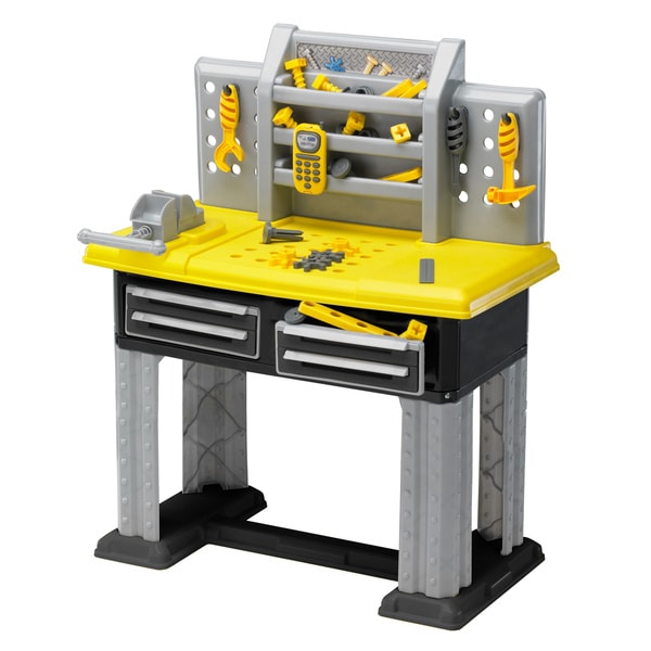 American Plastic Toys 38-piece Deluxe Workbench