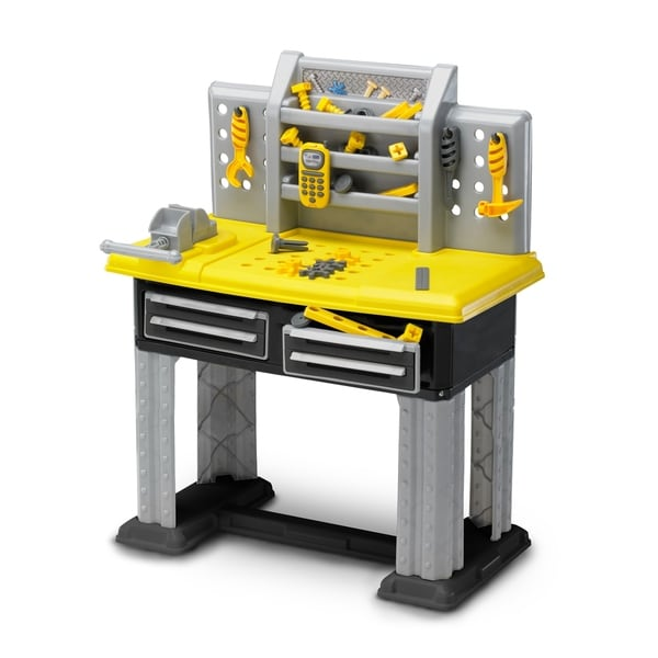 American Plastic Toys Deluxe Workbench Role Playset
