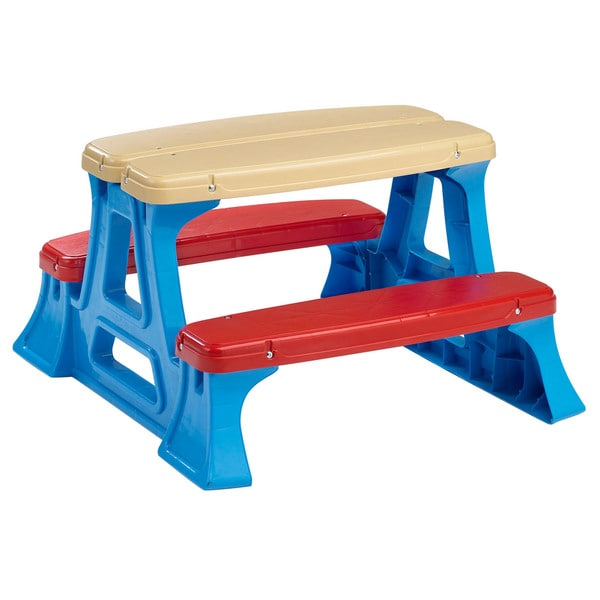 American Plastic Toys Picnic Play Table