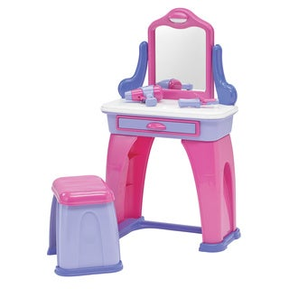 American Plastic Toys My Very Own Vanity Play Set - Pink