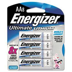 Energizer e¿ Lithium AA Batteries (Pack of 8)