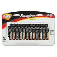 Energizer Alkaline AA Batteries (Pack of 36)