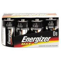 Energizer Alkaline D Batteries (Pack of 8)
