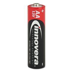 Innovera Alkaline AA Batteries (Case of 24)