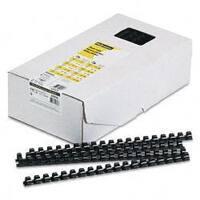 Fellowes Plastic Comb Bindings, 90-Sheet Capacity (Case of 100)