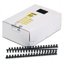 Fellowes Plastic Comb Bindings, 120-Sheet Capacity (Case of 100)