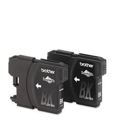 Brother LC612PKS (LC-61) Ink, Black (Pack of 2)