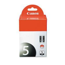 Canon 0628B009 (PGI-5BK) Ink, Black (Pack of 2)