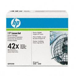 HP Q5942XD (HP 42X)  (Pack of 2) - Thumbnail 1