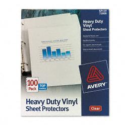 Avery Top-Load Vinyl Sheet Protectors, Clear (Case of 100)