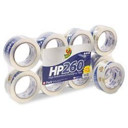 Duck Carton Sealing Tape, Clear (Pack of 8)