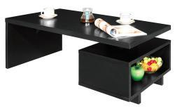 Bushwick Knickerbocker Open Cabinet Coffee Table - Thumbnail 1