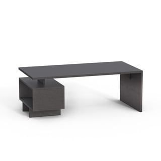 Furniture of America Open Cabinet Coffee Table