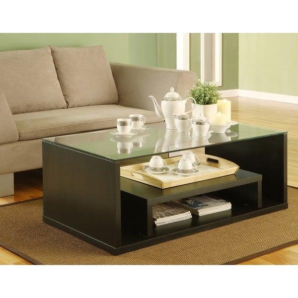 Furniture of America Glider Coffee Table