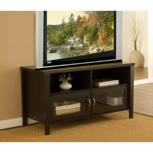 Furniture of America Two-door Wood TV Stand