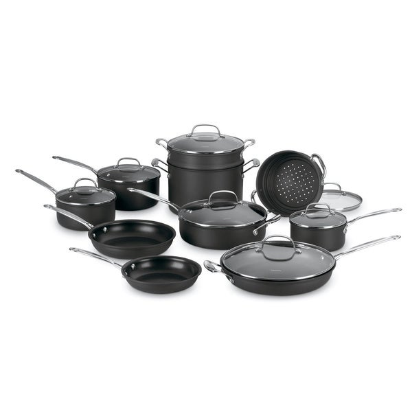 Cuisinart 17-piece Chef's Classic Nonstick Cookware Set