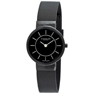 Stuhrling Original Women's Chantility Black Swiss Quartz Watch