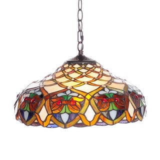 Tiffany-style Ariel Hanging Ceiling Fixture