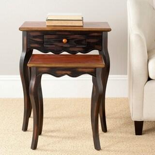 Safavieh Jasper Nesting Table with Drawer - 0