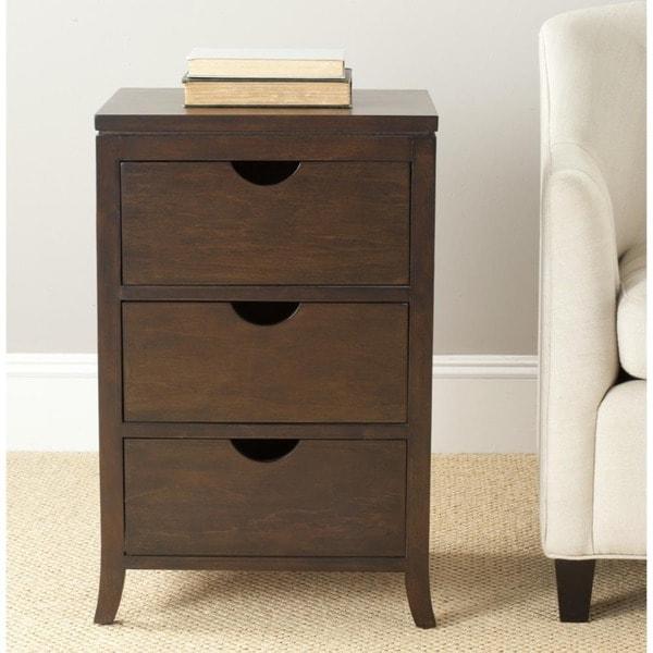 Safavieh Bailey Three-drawer Chest/ Side Storage Table