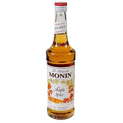 Monin Inc 750-ml Maple Spice Syrup (Pack of 12)